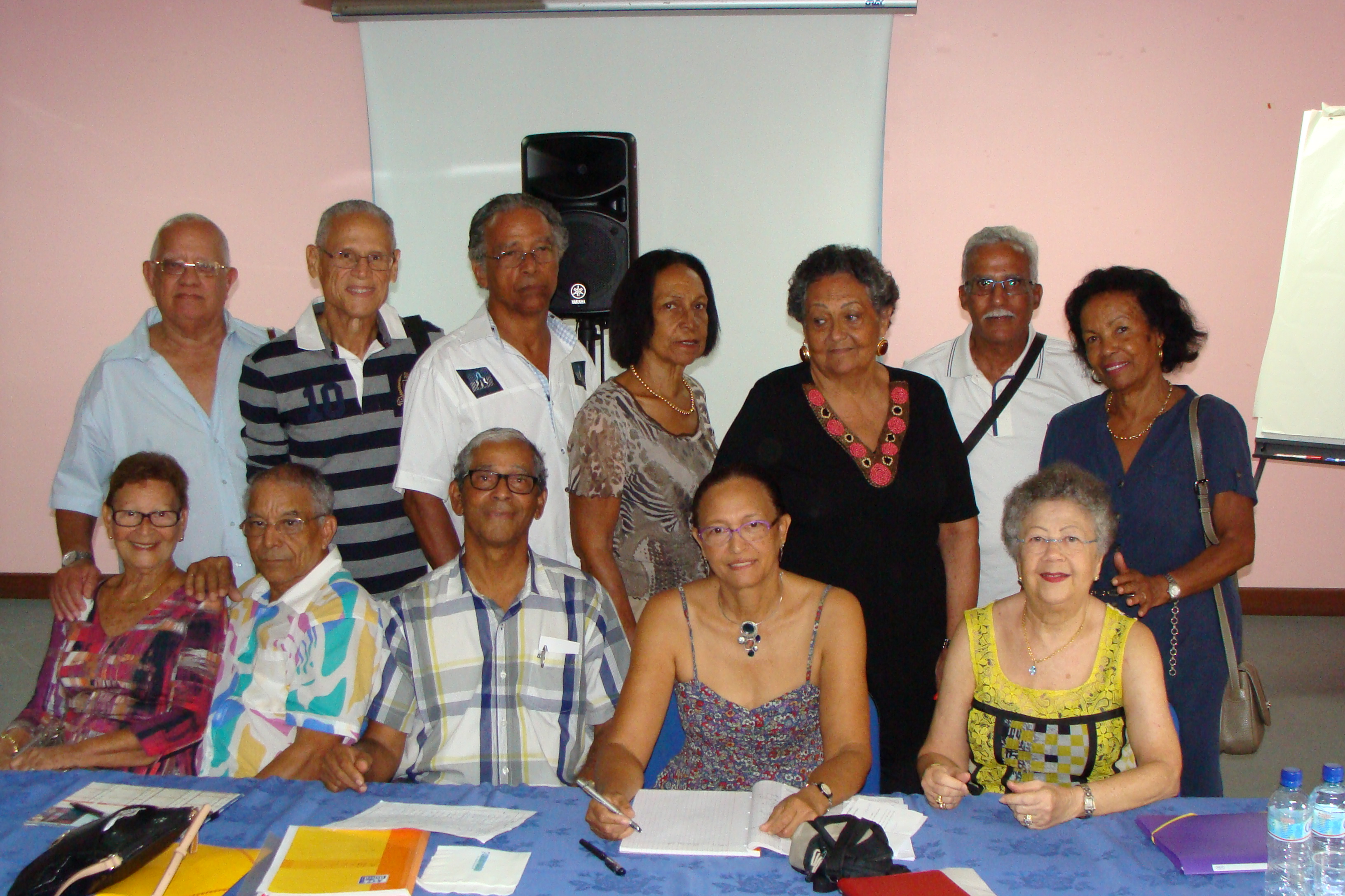 Le conseil d'administration de l'Amarisfa 2015